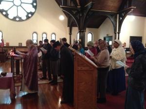 At Joy of All Who Sorrow Orthodox Church, Indianapolis