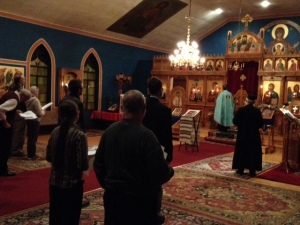 11-22-13 Moleben at Sts. Constantine & Elena Orthodox Church